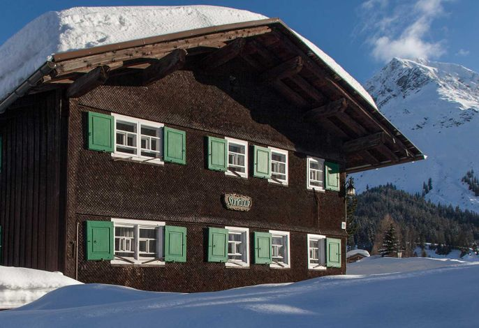 Sandbur, Das Walserhaus