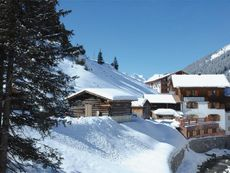 Margarethe, Haus Lech am Arlberg