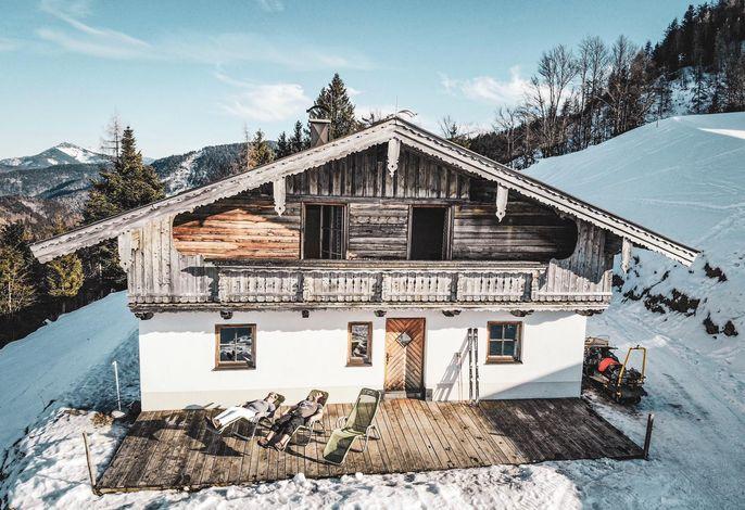 Scheibenwaldhütte am Unterberg in Kössen