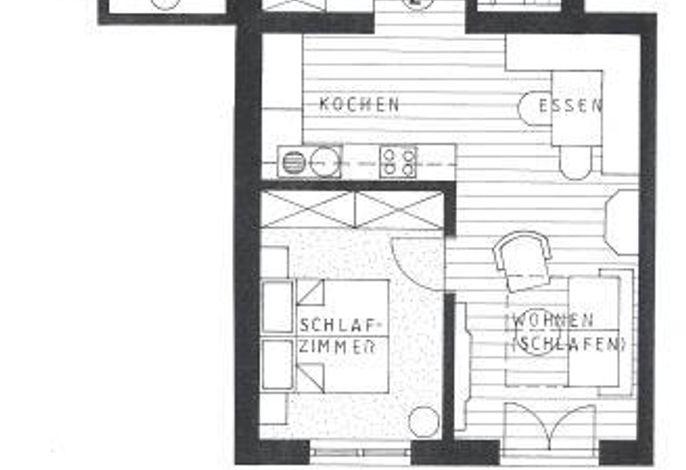 Omesberg 1, Appartement