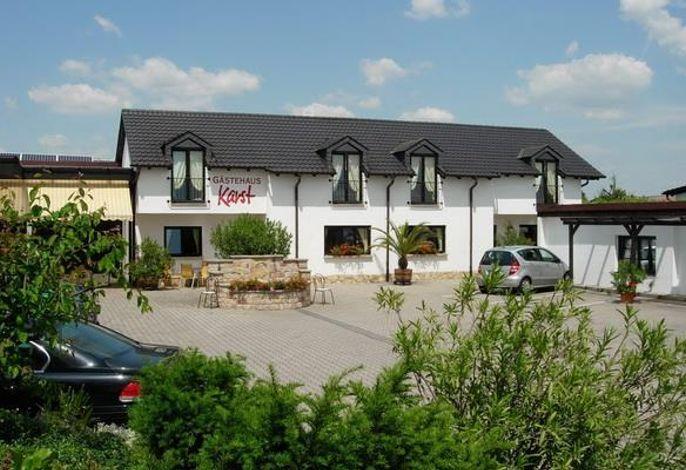 Gästehaus im Weingut Karst