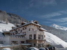 Alpenglühn, Burghotel Obergurgl-Hochgurgl