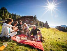Almhütte Kristemoarhütte Gaimberg