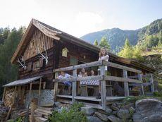 Berghütte Ploatschtratten