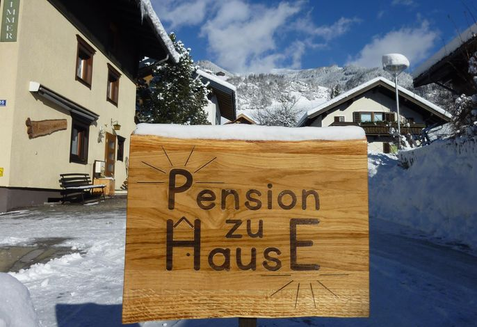 Pension zu Hause
