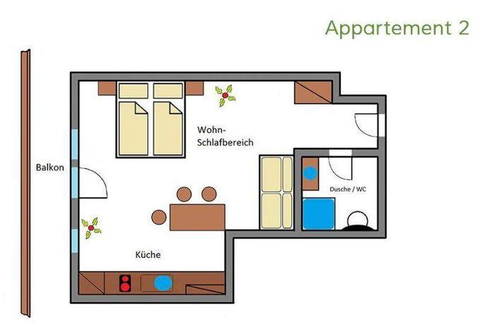 Wälderhof, Appartements