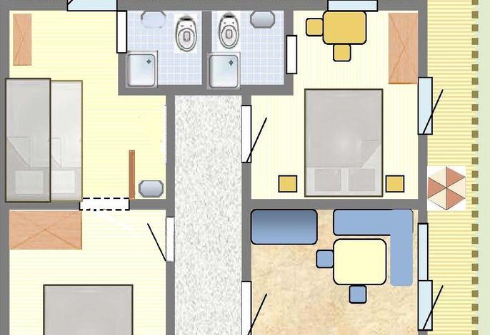 Appartements Pienz