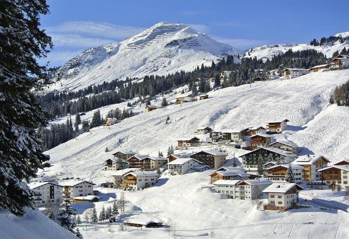 Schneekristall, Chalet