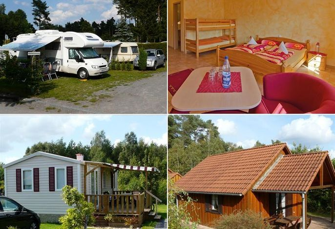 Campingplatz und Hotel