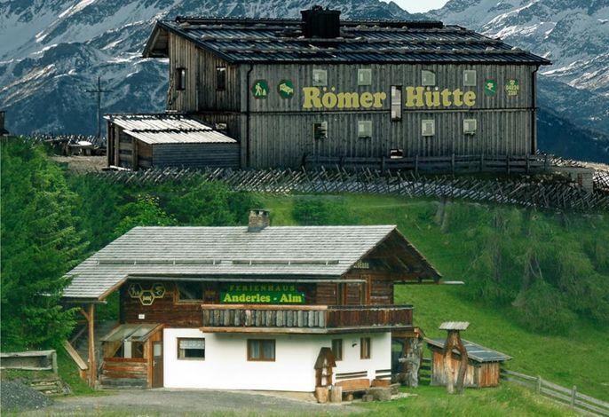 Ferienhausvermietung Anderles-Alm und Römerhütte