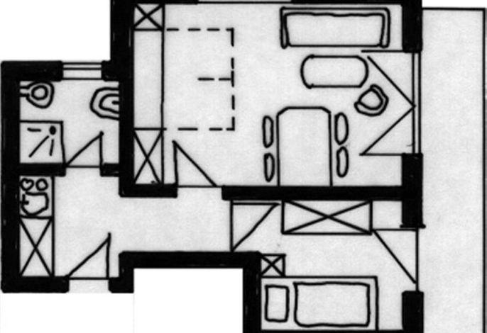 Hubertushof, Ferienappartementhaus