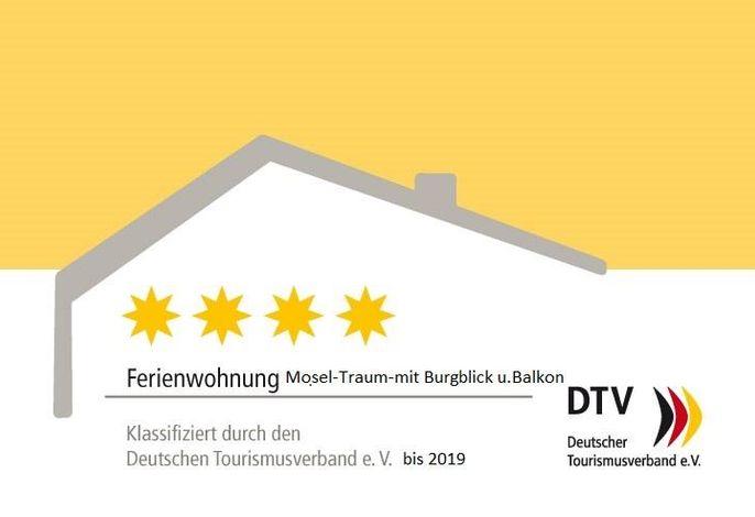 Moseltraum-Fewo mit Klima,  Burgblick und Balkon