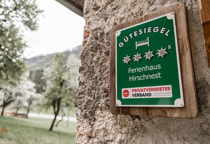 Ferienhaus HIRSCHNEST