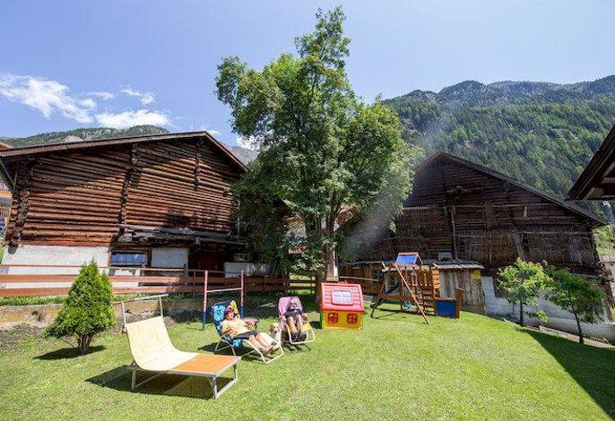 Top View Bauernhaus
