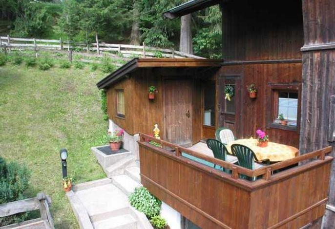 Wohlfühlappartement Bachhäusl mit Sauna