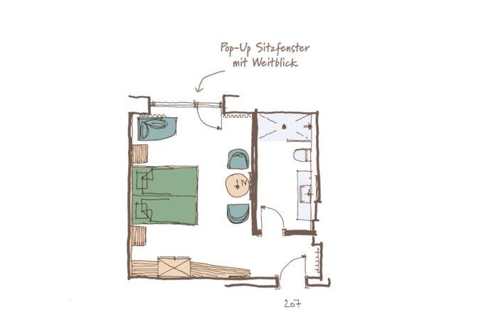 Neusacherhof, Hotel