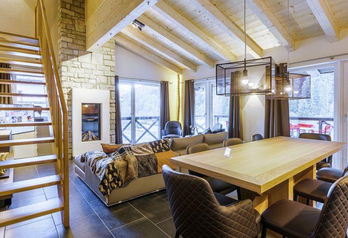 Saalbach Lodges Penthouse 4