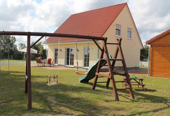 Ferienhaus Piratenlager - familienfreundlich mit Spielplatz
