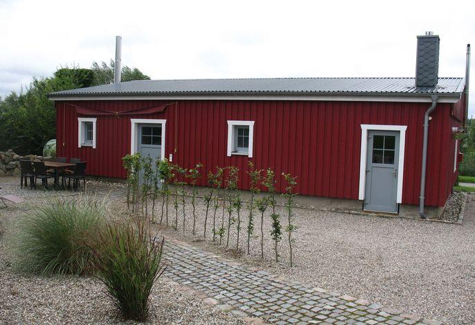 Das rote Ferienhaus