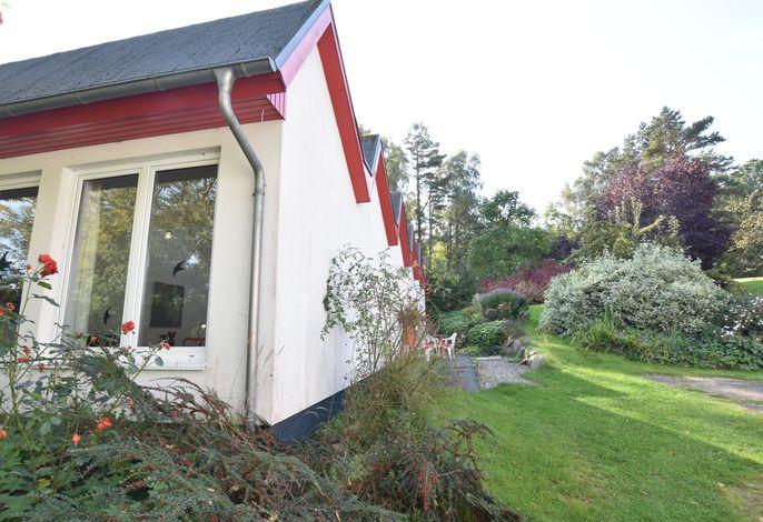 Ostseeblick Kühlungsborn mit Terrasse und Garten