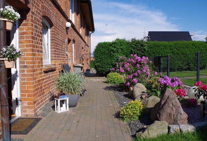 Ostseeurlaub Zur Steinbäck mit Terrasse