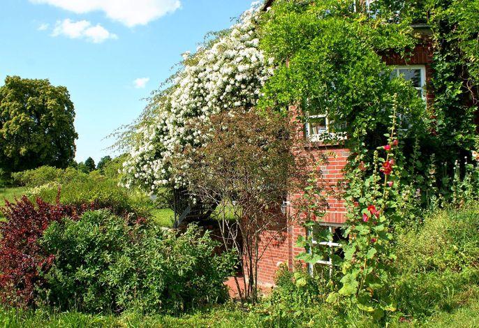 romantisches Landhaus mit Kamin