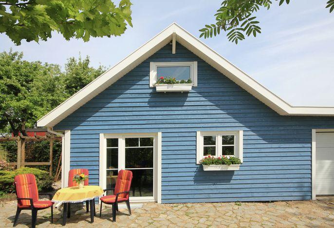 Das blaue Ferienhaus