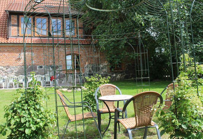 Landhausetage mit Garten