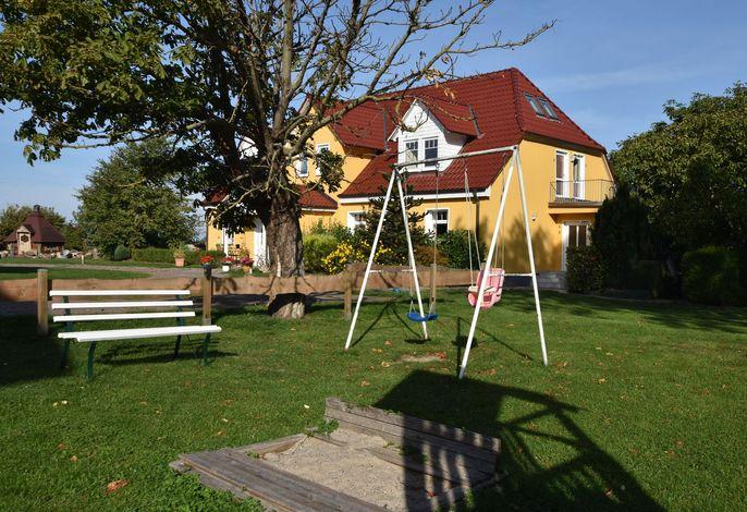 Ferienhof am Leuchtturm Nr 5 mit Meerblick