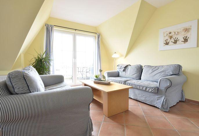 Minihus - Obergeschoss mit Balkon