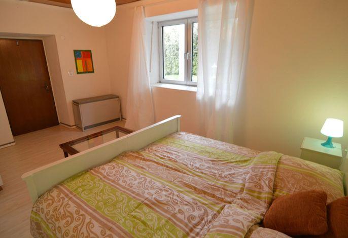 Ferienzimmer Blaugrün im Gutshaus Börner