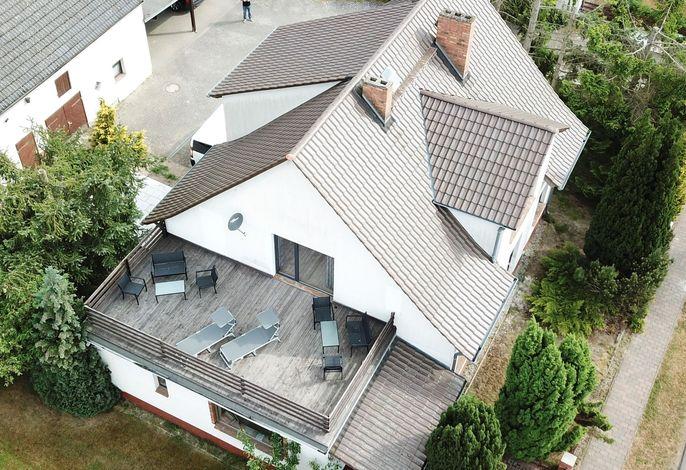 Ferienwohnung mit großer Dachterrasse am Stettiner Haff 4