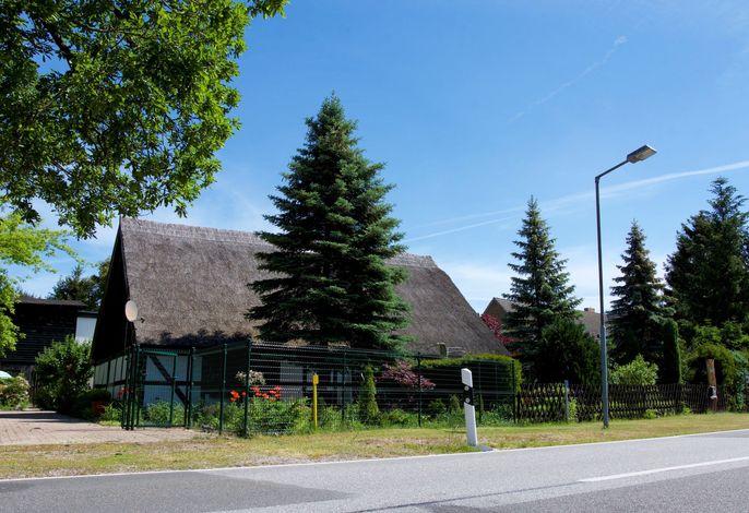 Ferienhaus Ahlbeck am Haff - Schlafen unter Reet / 2