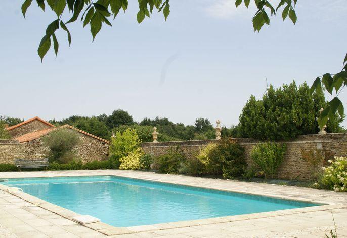 Manoir avec piscine privée