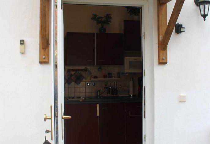 Blick zum Flur/Küche