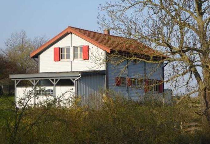H12 Holz-Ferienhaus Haffblick Russow nahe Ostseebad Rerik