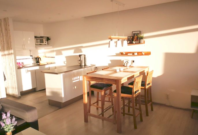 Wohnraum offene Küche