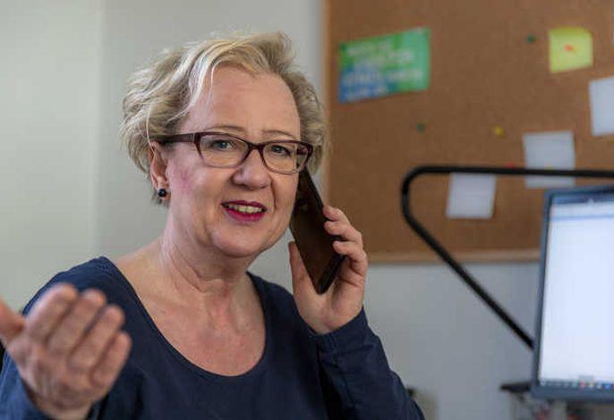 Christine Hüppeler - gerne berate ich Sie rund um ihren Urlaub in Dangast