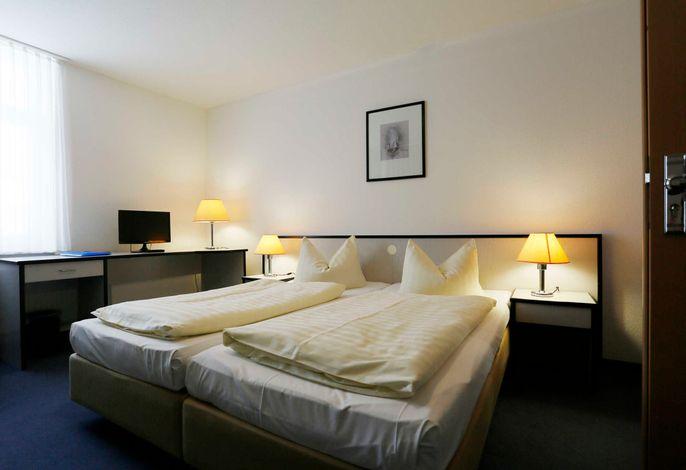 Zimmeransicht: Doppelbett