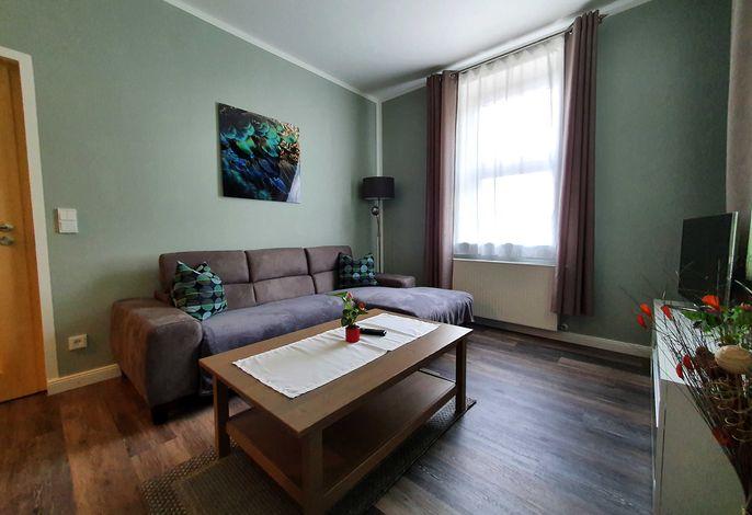 Moderner Wohnbereich Zimmer 3 mit Wohnlandschaft