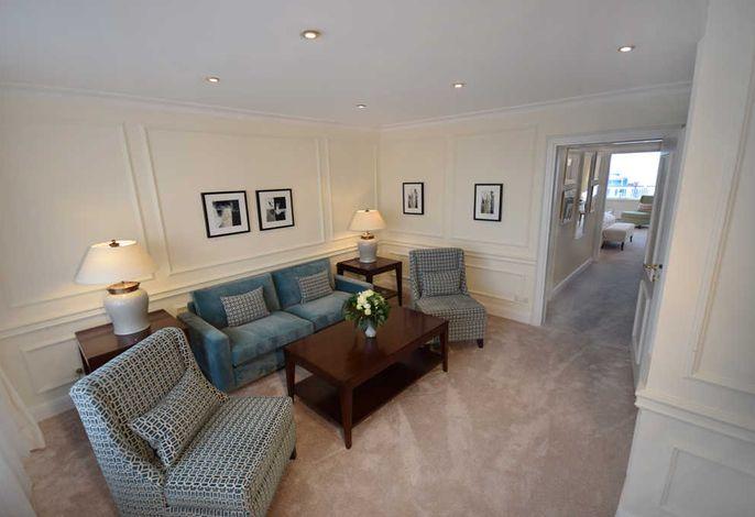 Seeschlösschen Suite Wohnbereich
