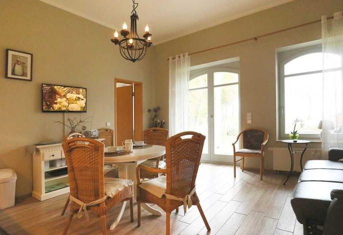 Villa Seegarten App.03- Blick durchs Appartement