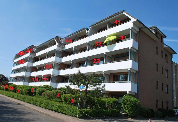 Haus Nordseeblick Wohnung 22