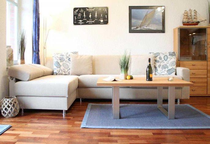 Villa Seegarten Whg. Seg07 - Blick auf das gemütliche Sofa