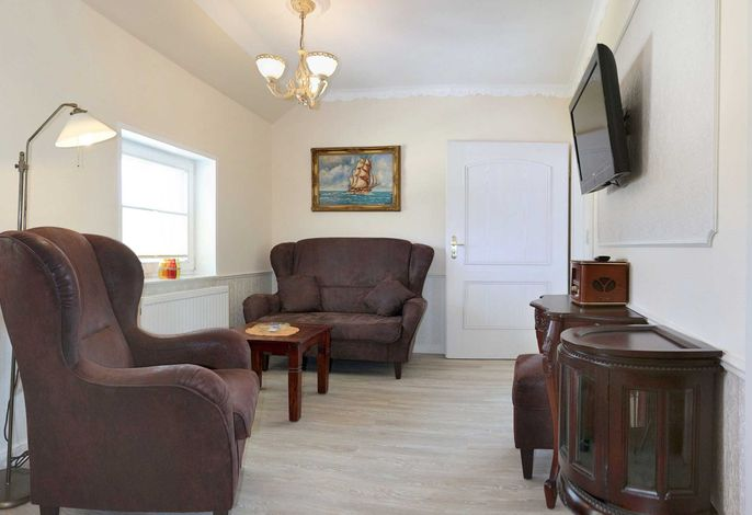 Appartement Nr. 6 'Kap Arkona', Wohnraum