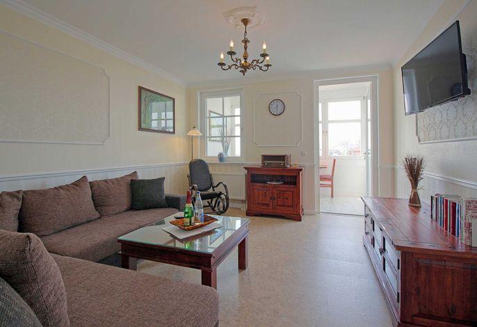 Appartement Nr. 5 'Jasmund', Wohnzimmer
