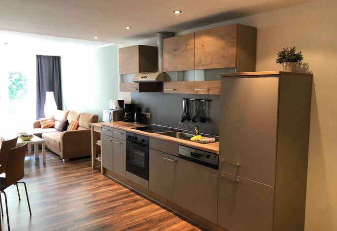 Küche und Wohnram