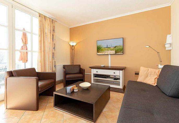 Wohnzimmer mit bequemen Rolf Benz Möbel
