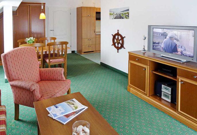 Wohnessbereich mit Fernseher