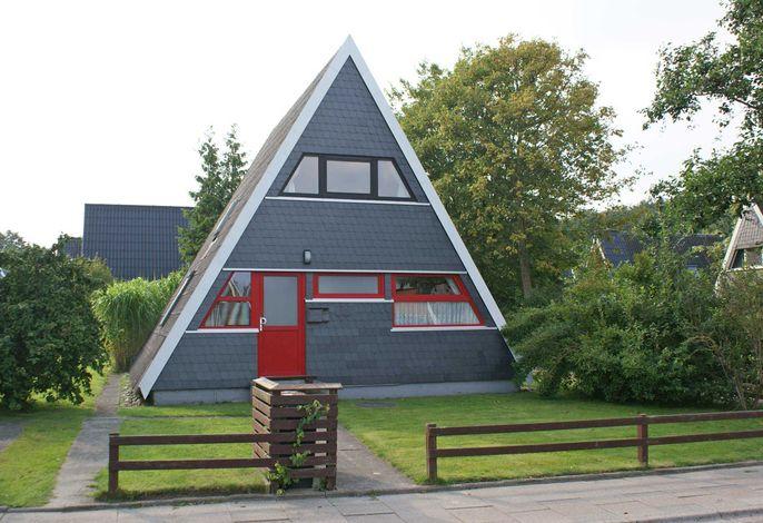 Zeltdachhaus - sehr strandnah - Parkplatz vor der Tür